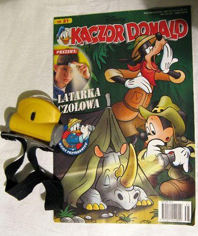 Komiksy Kaczor Donald 2,29,31,49/2008 z dodatkami
