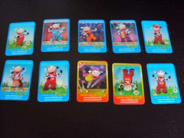 16 Cartões mágicos gelados Olá - Milktime