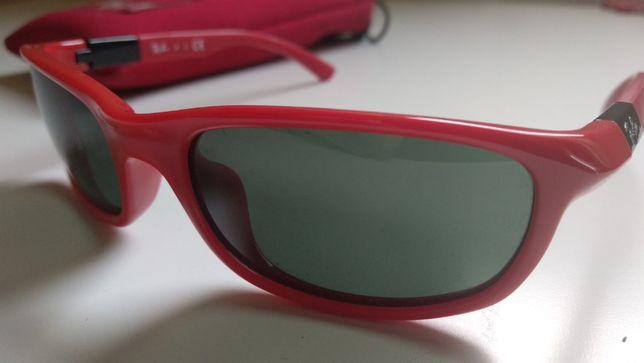 Óculos de Sol Ray Ban - Originais - Vermelhos - Criança