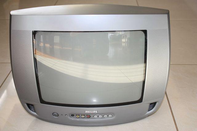 TV telewizor Philips 14 cali stereo sprawny super stan dvbt monitor
