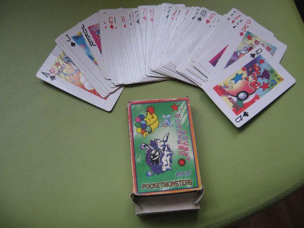 OKAZJA Pocket Monsters kolekcjonerskie karty 54 szt w opakowaniu