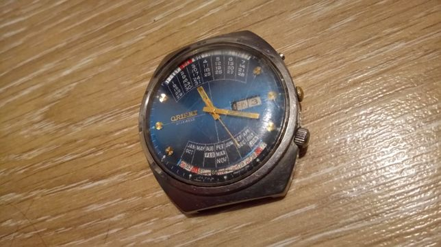 Часы orient 21 jewels часы колледж механика с авто заводом Япония