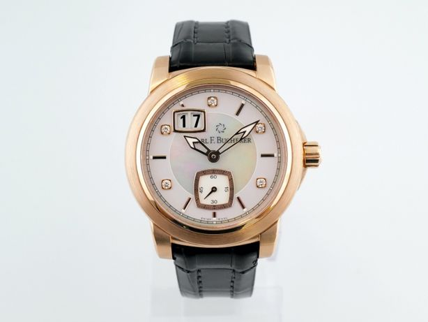 Женские новые часы Carl F.Bucherer Patravi Big Date 38,5 мм