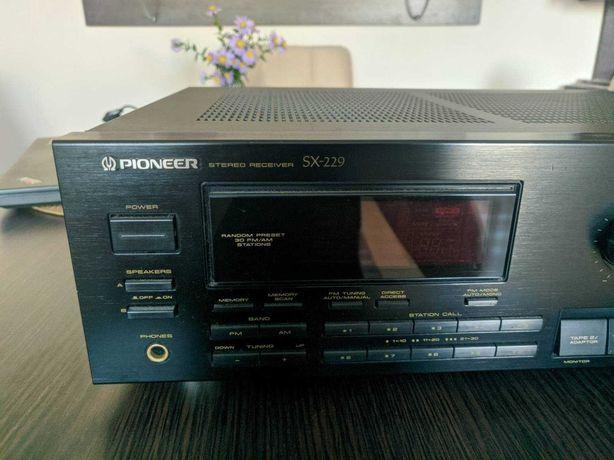 Pioneer SX-229 amplituner + głośniki
