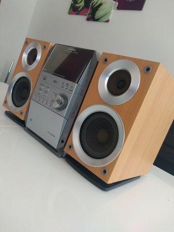 Wieża stereo Panasonic SA-PM19, pilot