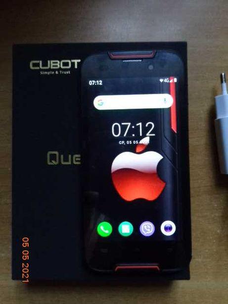 Противоударный,пило волого захищений  Cubot Quest Lite (3+32Gb) Red