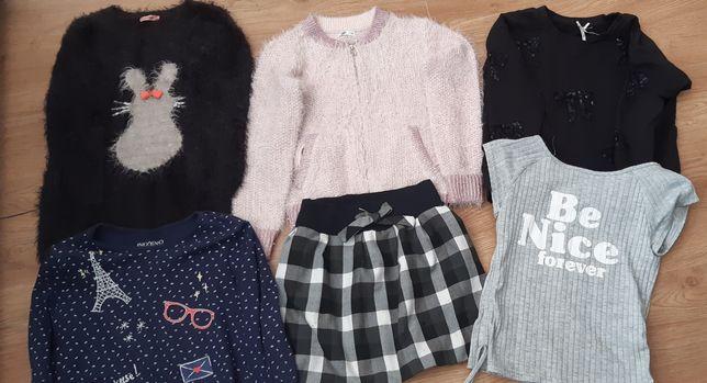 Zestaw ubran dla dziewczynki 128 cm