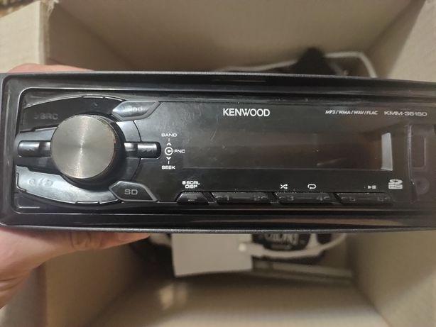 Продам отличную процессорную магнитолу Kenwood KMM 361SD