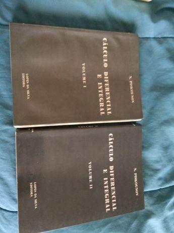 Cálculo Diferencial e Integral Vol I e II