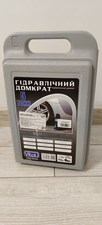 Гідравлічний домкрат Vitol 5т (T90504S/ДБ-05004К)