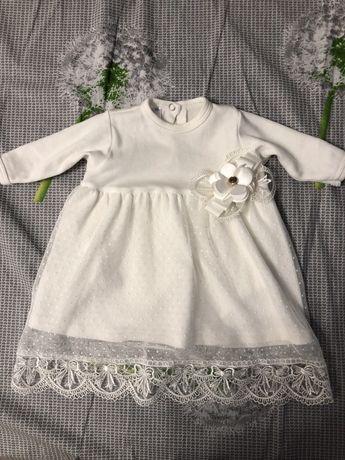 Платье детское (на крестины)