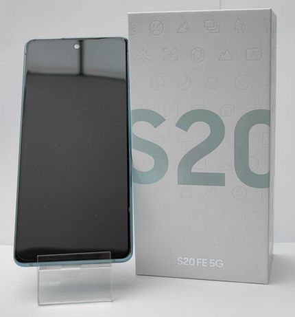 Powystawowy Telefon Samsung Galaxy S20 FE 5G 128GB ZIELONY