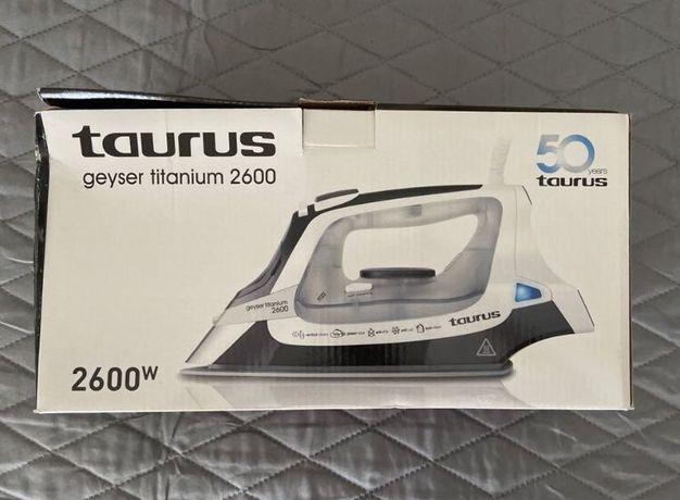 Ferro a Vapor Taurus Geyser Titanium 2600 Novo