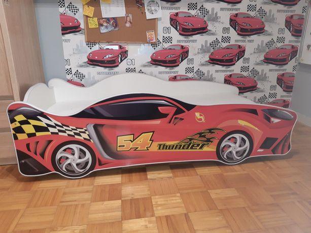 Łóżko samochód dla chłopca + materac z ANPOL-u