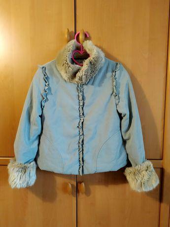 Куртка девочке 10 - 12 лет весна осень