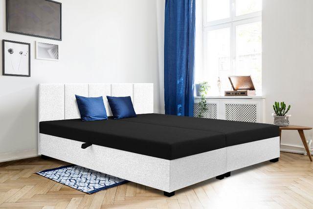 Łóżko dwuosobowe, tapczan hotelowy pojemnik+wezgłowie w cenie