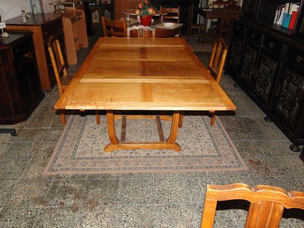 Mesa em madeira extensível - óptimo estado