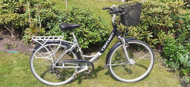 Rower Oxford holender amory Led kosz licznik dynamo w piaście AXA