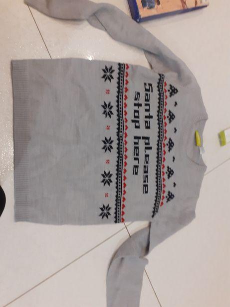 Nowy sweterek 122/128