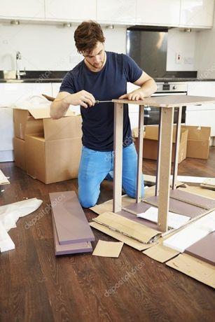 Збір меблів. Складання меблів. Збирання меблів. Сборка мебели. Переїзд