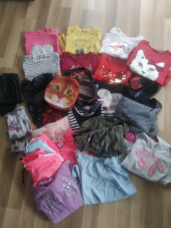 Jesień, zestaw ubrań paka 146 dziewczyna, cena z wysyłką