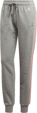 Adidas damskie spodnie dresowe szare
