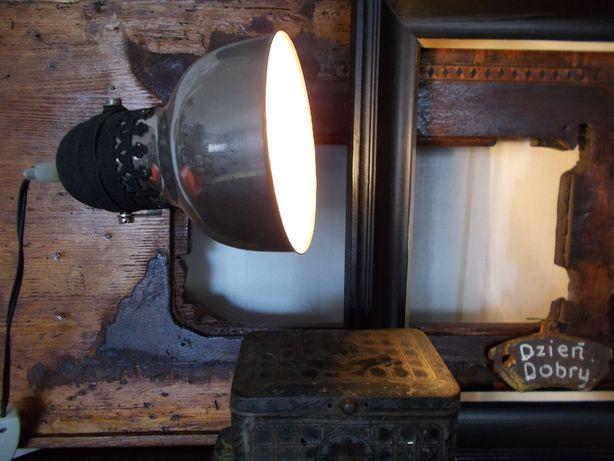 & Stara Lampa & Loft & Industrialna & Unikat & Vintage &