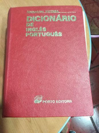 Vendo dicionário de inglês português em bom estado