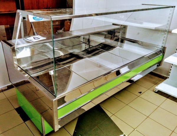 """Новая холодильная кубическая витрина """"Vento cube"""" выкладка 90см."""