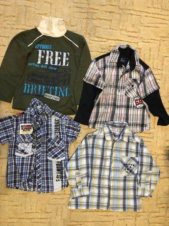 Рубашечки на хлопчиків, вік від 2 до 10 років