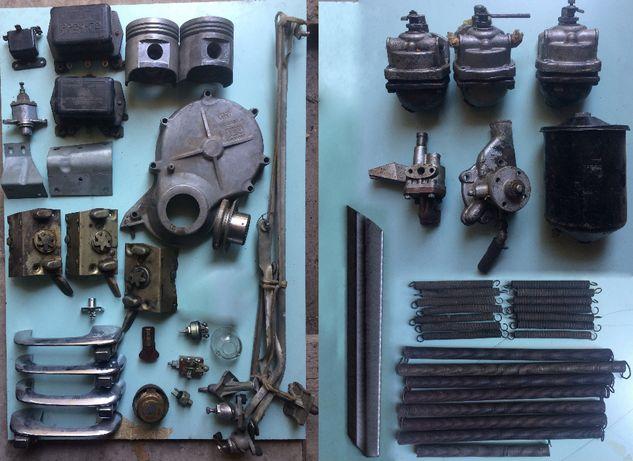 хром ручки дверей ГАЗ-21 разборка
