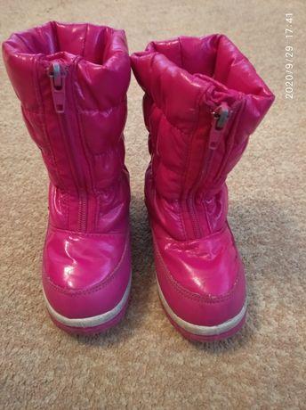 Зимові чобітки для дівчинки  23 розмір