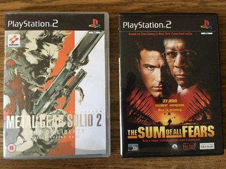 Gry na konsolę PS2.