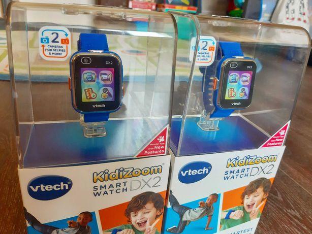 Детские смарт-часы Kidizoom Smart Watch Dx2, синие - VTech