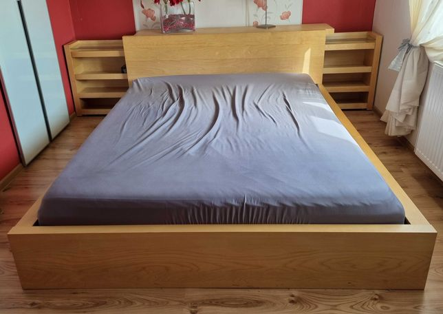 Łóżko materac z komoda albo bez