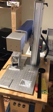 Laser de fibra 20w para gravação em metais