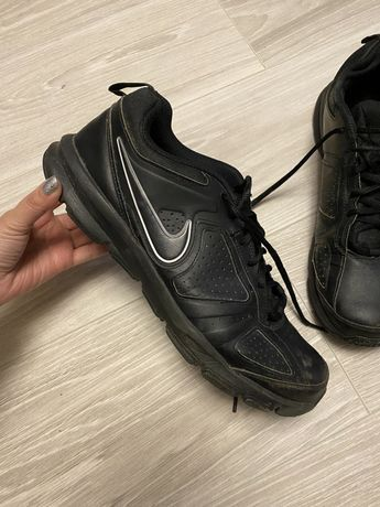 Кожаные кроссовки ботинки Nike Adidas Ecco