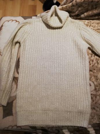 Swetr dziewczęcy