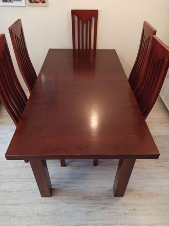 Stół i 6 krzeseł 170/220/270/90