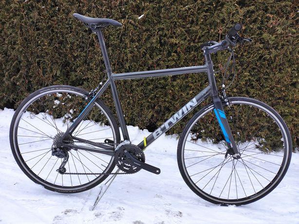 Rower szosowy fitness Triban 500 szosa 60 cm / XL