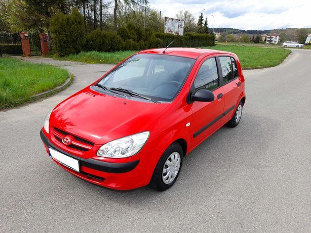 Hyundai Getz LIFT 1.1 Benzyna 2006r Klima 5 Drzwi Zadbany!