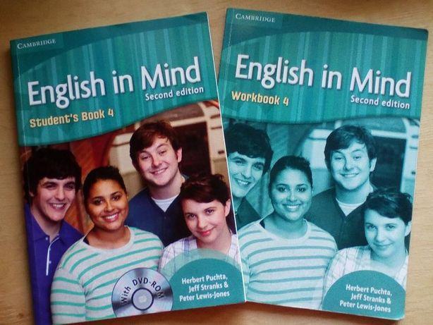 English in Mind Student's Book 4 с диском + рабочая тетрадь