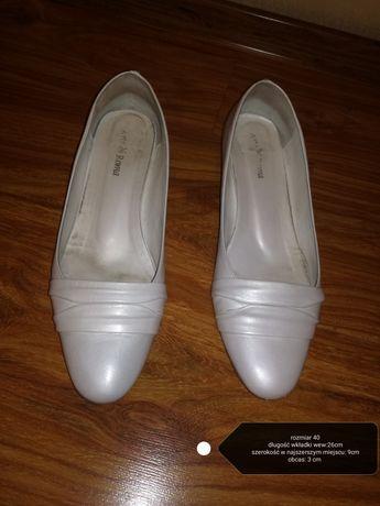 Buty ślubne rozm.40 firmy Arti di Roma