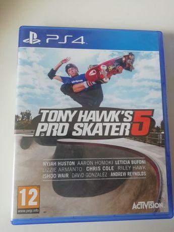 Jogo Tony hawks pro skate 5- ps4