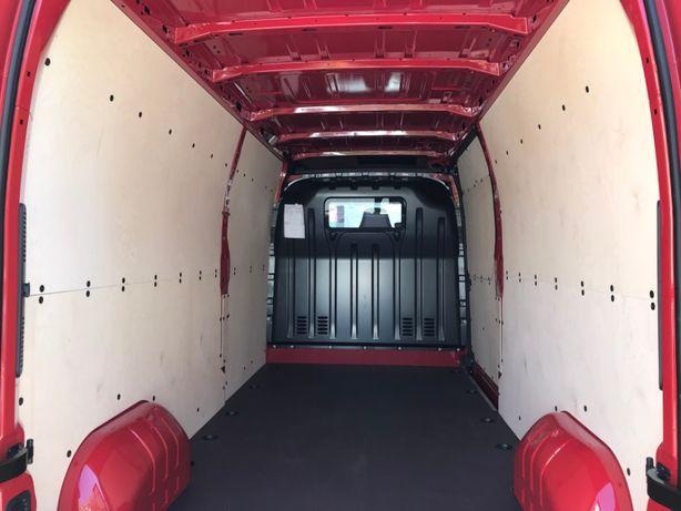 Zabudowa busa paki, podłogi Master Movano L3H2 - CNC