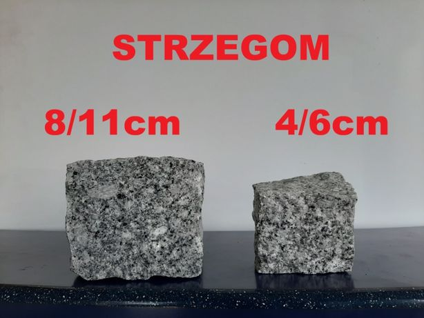 Kostka granitowa Strzegom / Strzelin