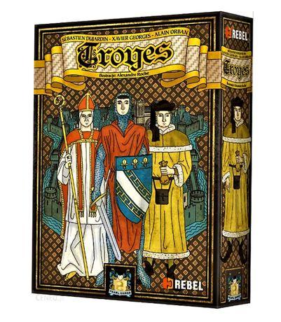 Gra planszowa Troyes - stan bdb