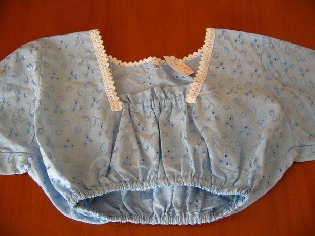 Blusa bordada tamanho 34 nova nunca usada