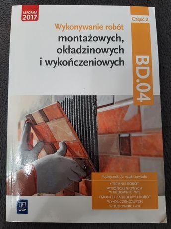 Podręcznik do nauki zawodu Technik robót wykończeniowych