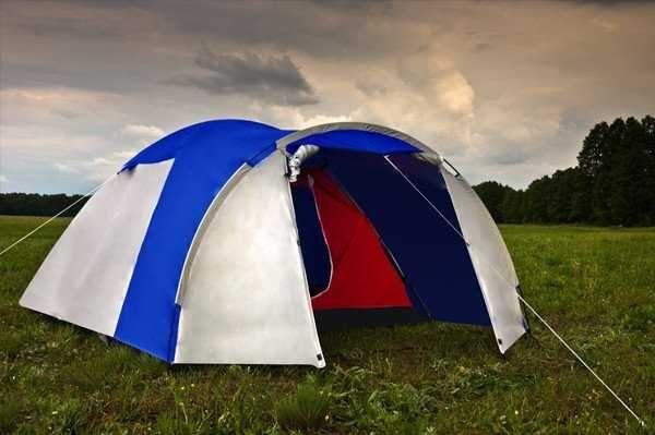 Бесплатная доставка Туристическая 3 х местная палатка Acamper Monsun 3